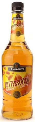 Hiram Walker Schnapps Butterscotch